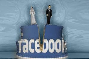 divorce cake Facebook