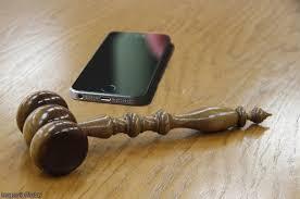 cell phone gavel